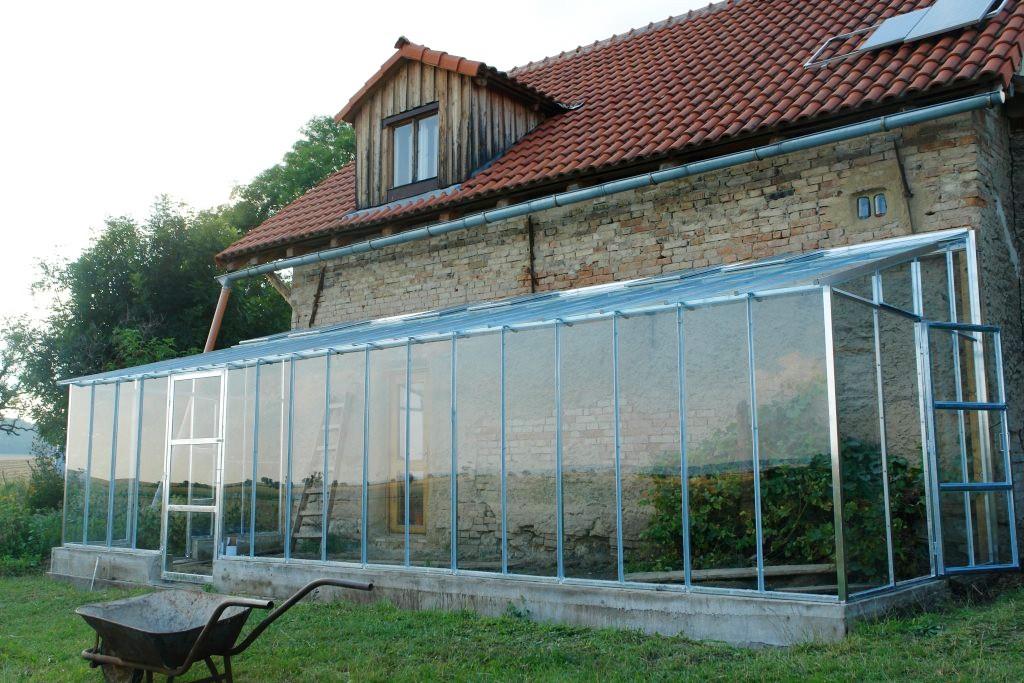 Das Glashaus und die Sense 1