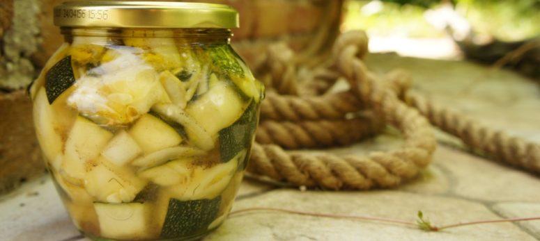 Zucchini einlegen ganz leicht gemacht!