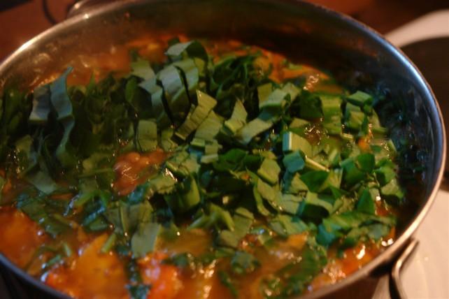 Leckere Suppe mit Bärlauch!