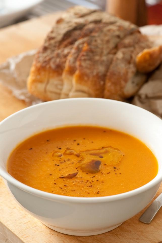 Foto von Karotten-Ingwer-Suppe
