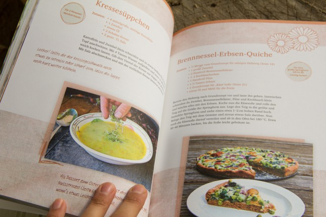 """Foto von Blick ins Buch """"Vegan, regional, saisonal"""""""