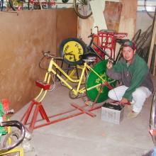 Foto aus einer Werkstatt