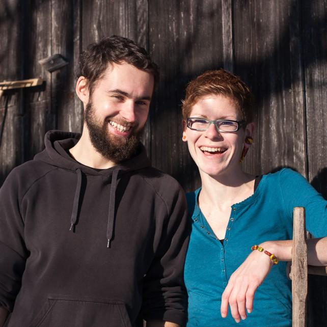 Foto von Mi und Max vom Sepplashof
