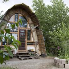 Foto von Kettenlinienhaus
