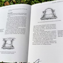 Foto einer Doppelseite aus dem Buch Das Insektenhotel