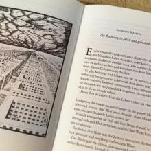 Foto von der ersten Doppelseite des 6. Kapitels von Momo