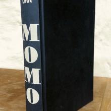 Foto vom Buchrücken von Momo