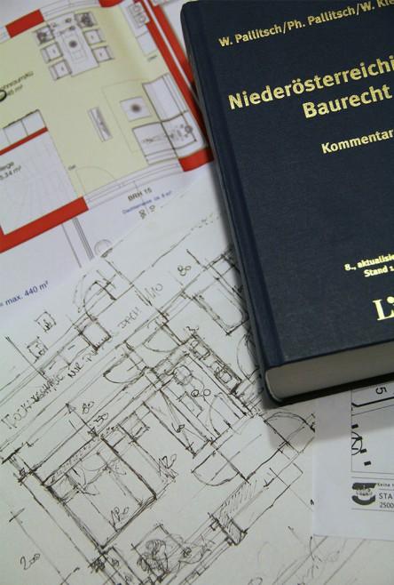 Foto vom  Niederösterreichischen Baurecht (Linde Verlag).
