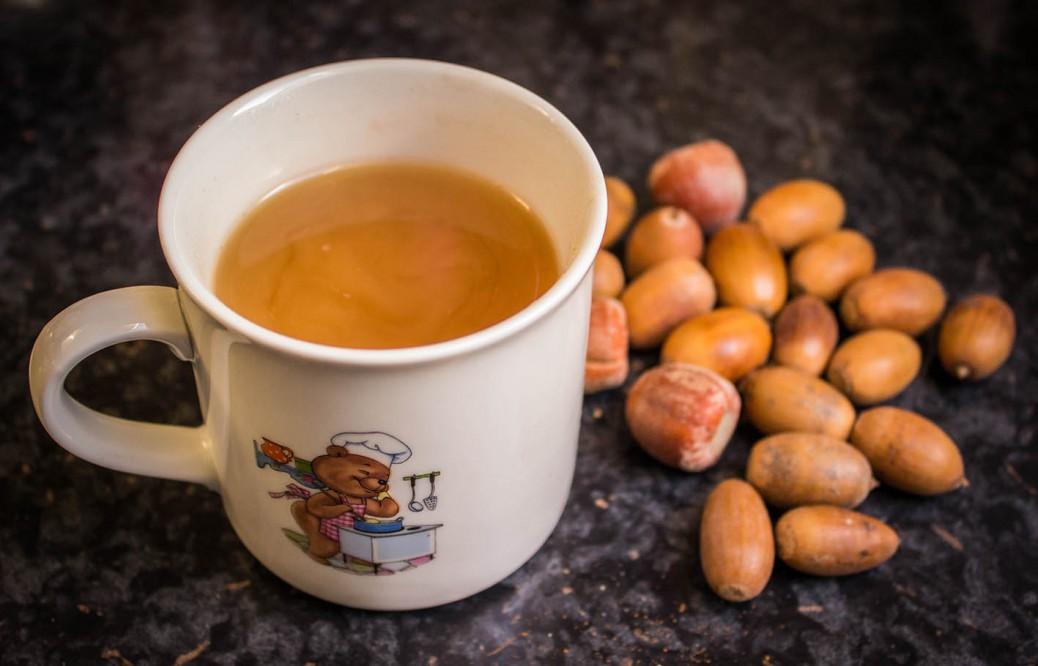 Foto von fertigem Eichel-Kaffee