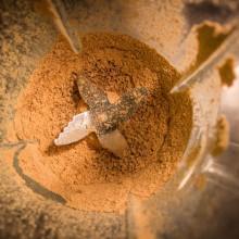Foto von Eichel-Mehl im Mixer