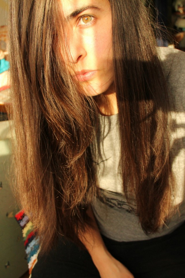 Lisas Haare ohne Shampoo