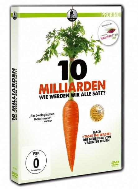 Bild des DVD-Covers des Filmes 10 Milliarden