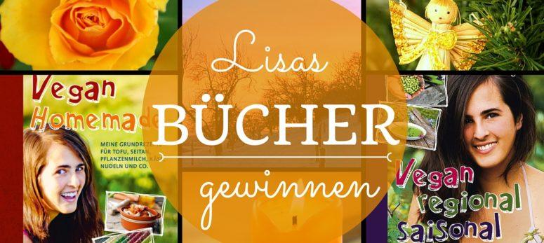 Gewinne jetzt eines von Lisas Büchern!