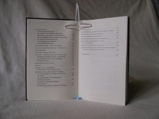 Zweite Seite des Inhaltsverzeichnisses des Buches Aschenlauge - Die alte Kultur der Bauern