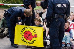 Hanna Poddig Blockade
