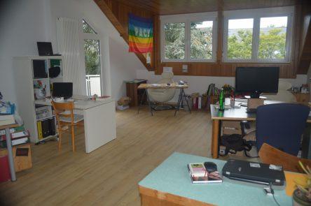 Zu sehen ist der Co-Wupping-Space im Liebermensch-Haus