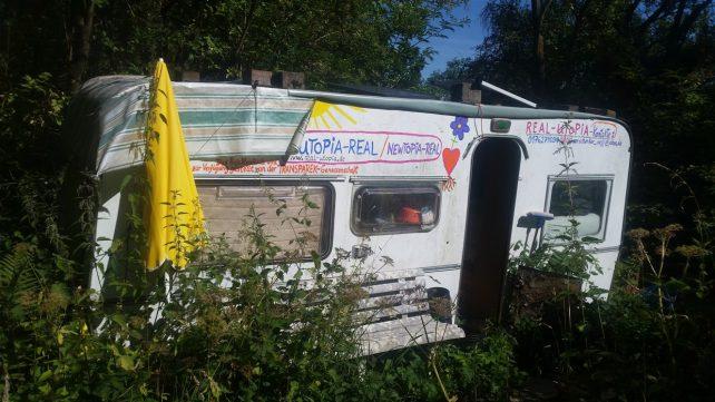 Foto eines Wohnwagens im Projekt RealUtopia
