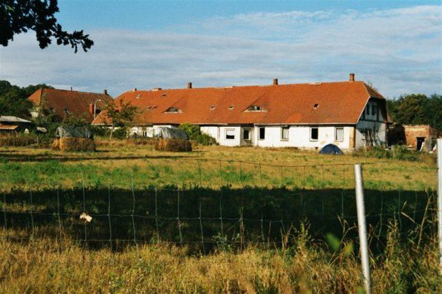 Foto eines Hauses einer Gemeinschaft der Schenker-Bewegung