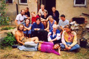 Gruppenbild einer Teilnehmer*innen-Gruppe des SCI-Camps.