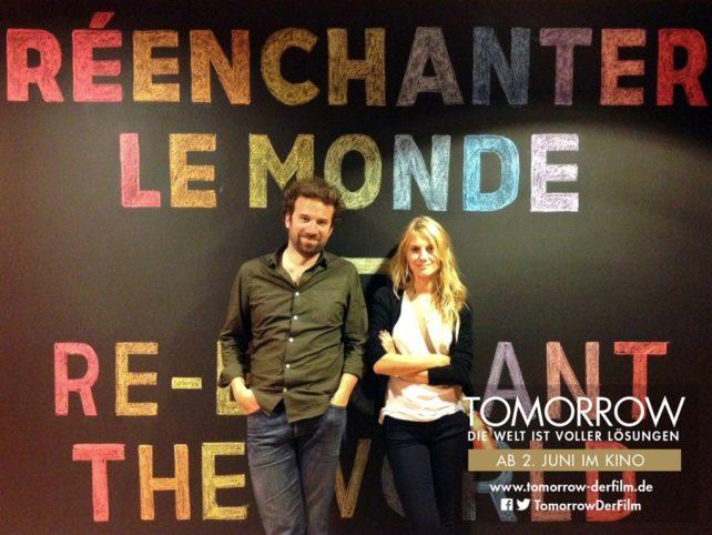 Foto von Mélanie Laurent und Cyril Dion