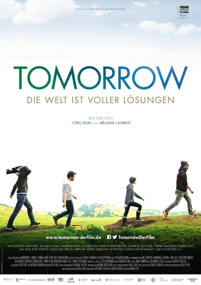 Cover der DVD Tomorrow - Die Welt ist voller Lösungen