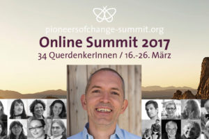 Sujet des Pioneers of Change Online Summit 2017