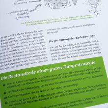 biologisch Düngen - Foto aus dem Buch Bio-Gemüse erfolgreich direktvermarkten von Jean-Martin Fortier
