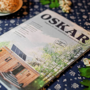 Cover des Magazins Oskar, Ausgabe 2, der Firma Wohnwagon