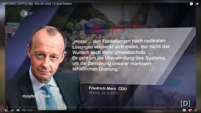 Friedrich März fordert die Zerstörung des Kapitalismus