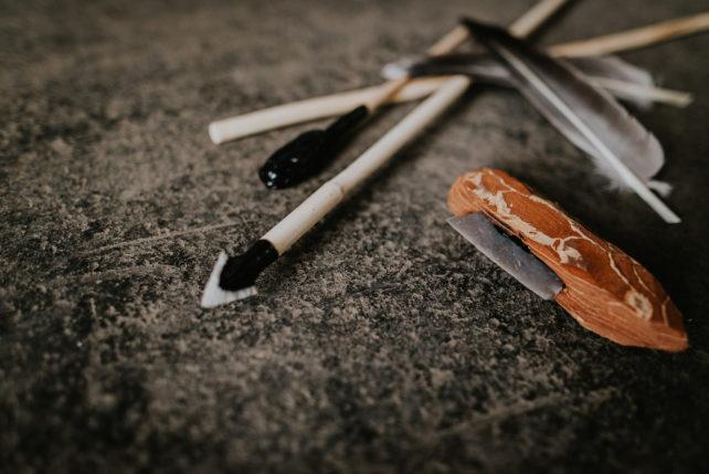 Pfeil und Bogen selber bauen 2
